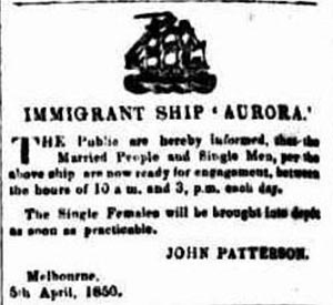 The Argus (Melbourne), Friday 5 April 1850, page 2